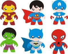 Ironman, Superman, Captain America, Hulk, Batman and Spiderman. Baby Avengers, Baby Superhero, Superhero Birthday Party, Superhero Cookies, Baby Mobile, Batman, Superman, Felt Patterns, Finger Puppets