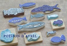 fishes by La Fabutineuse