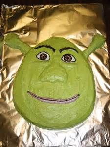 Very Yummy Version Of The Famous Ogre A Fun Cake Enjoyed By Kids