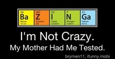 Big Bang Theory humor...you will only understand this if you watch it