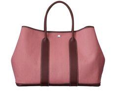 hermes handbags | Hermes Handbag - Garden Party Dip-dyed Canvas in Pink