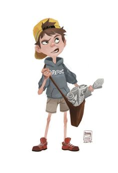 Happy to give Paperboy some love for @sketch_dailies! ★ Find more at http://www.pinterest.com/competing/