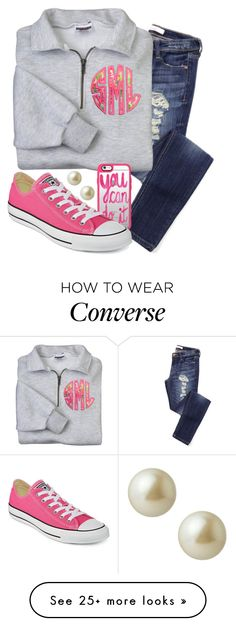 """High or low top converse?"" by hgw8503 on Polyvore featuring Casetify, Converse, Carolee, women's clothing, women, female, woman, misses and juniors"