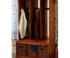 Best 12 Hall Tree Storage Bench With Baskets Ideas