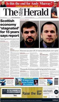 Herald ( Thursday September 6 2018) #news #newspaper Herald News, September, Andy Murray, Newspaper, Thursday, Facts, Magazine, Knowledge