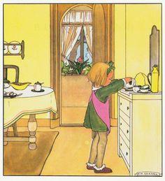 Rie Cramer Het jaar rond editie 1978, ill Anneliesje