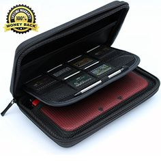 awesome New 3DS XL Case, New 3DS Case, 3DS XL Case, ✮ Luxury Carrying Case For Your 3DS XL & Accessories ✮ Protect Your Nintendo 3DS In Style ✮ 100% Money Back Guarantee! PROTECT YOUR NEW 3DS / 3DS XL IN STYLE! Our new 3DS XL case is made using the highest quality materials available to give you unparalleled protect…