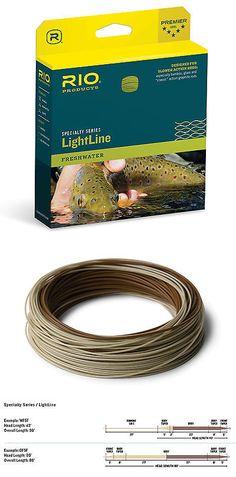 Fly Line Leaders and Tippets 23817: Rio Lightline Fly Fishing Line Weight Forward And Double Taper Floating Fly Line -> BUY IT NOW ONLY: $52.99 on eBay!