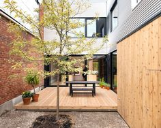 Old Duplex Converted Into Welcoming Family Home: De Gaspé House in Montreal