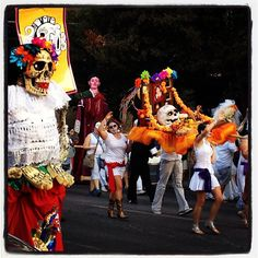 Day of the Dead parade in Austin, TX