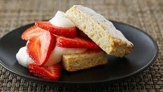 Shortcake de fresa típico americano (Classic farmhouse strawberry shortcake) - Anna Olson - Receta - Canal Cocina