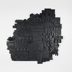 Louise Nevelson untitled USA, 1972 lacquered wood construction 138 h x 139 w inches Literature: Architectural Digest,. Louise Nevelson, Abstract Sculpture, Sculpture Art, Concrete Sculpture, Art Through The Ages, Modern Photography, Wooden Wall Art, Wood Wall, Recycled Art