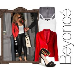 Beyoncé, created by maryv-1 on Polyvore