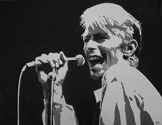 Check out this item in my Etsy shop https://www.etsy.com/uk/listing/270397150/david-bowie-ltd-edition-print
