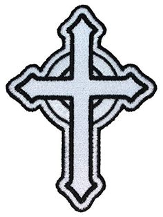 Amazon.com: Celtic Cross Christian Symbol Irish Design Embroidered Iron on Applique Patch