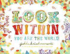 Look Within by katiedaisy, via Flickr