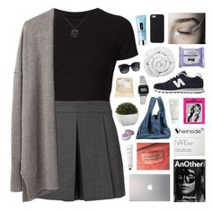 """like a riot"" by feels-like-snow-in-september ❤ liked on Polyvore featuring Getting Back To Square One, Alexander Wang, Giada Forte, New Balance, Samsung, Alexander McQueen, Rodin Olio Lusso, Crate and Barrel, Maison Margiela and Brinkhaus"