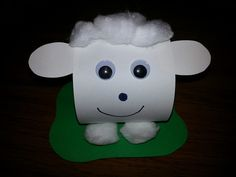 Misadventures of a YA Librarian: Sheep Craft Good Shepherd Story Sheep Crafts, Vbs Crafts, Church Crafts, Bible Crafts, Craft Stick Crafts, Crafts To Do, Easter Crafts, Crafts For Kids, Sunday School Lessons