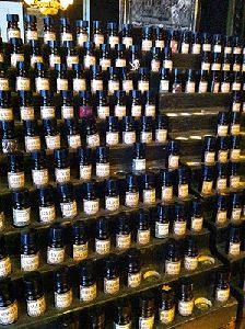 Perfumes from Black Phoenix Alchemy Labs... too many to choose from.