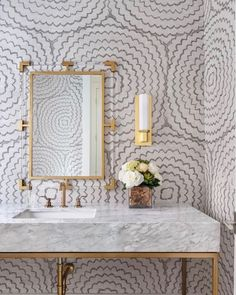 Cheap Home Decor Our sisal by adds dimension and textural allure to this dreamy powder room designed by Home Decor Our sisal by Cline Desormeaux adds dimension and textural allure to this dreamy powder room designed by Powder Room Wallpaper, Bathroom Wallpaper, Of Wallpaper, Fabric Wallpaper, Powder Room Vanity, Feather Wallpaper, Textured Wallpaper, Wallpaper Ideas, Home Design
