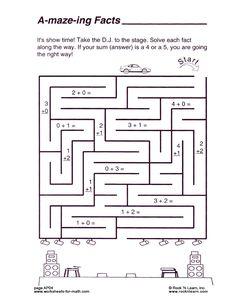 ... Math Facts / 1st Grade Math / 2nd Grade Math / Elementary Math