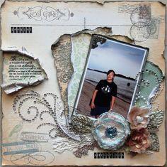 Seeking Adventures - Scrapbook.com My Mind's Eye - Market Street Collection