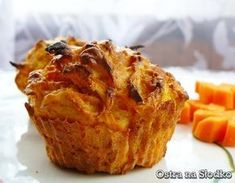 MUFFINY MARCHEWKOWE Baked Potato, French Toast, Food And Drink, Meals, Baking, Breakfast, Ethnic Recipes, Morning Coffee, Meal