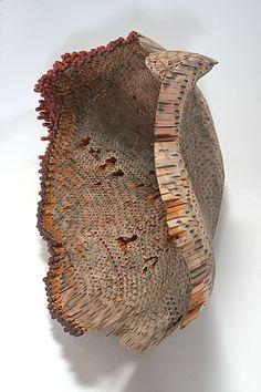 Jessica Drenk, made of pencils