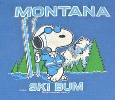 1984 Snoopy Montana Ski Bum