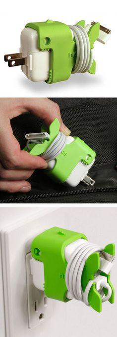 Green Goldfish Cord Storage //