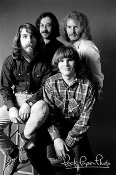 Creedence Clearwater Revival by Baron Wolman