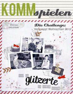 #KommSpielen Challenge von www.danipeuss.de | Layout von Steffi/lorchen