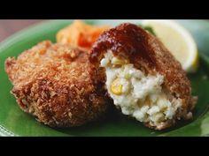 【レシピ】グラタンコロッケの簡単な作り方 - YouTube