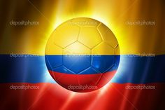 Football with flag of colombia — Stock Photo © Mishchenko Colombia Soccer, Colombian Art, Topics To Talk About, Free Football, Roger Federer, Soccer Ball, Photo Library, Venezuela, Sports