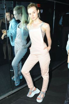 Elle Fanning – '100% Lost Cotton' Opening Ceremony in New York City