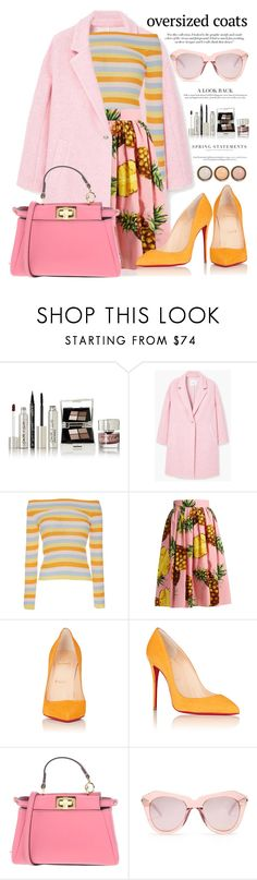 """Oversized coats : Mixing it"" by jan31 ❤ liked on Polyvore featuring Smith & Cult, MANGO, VIVETTA, Dolce&Gabbana, Christian Louboutin, Fendi, Victoria Beckham, Karen Walker, Folio and By Terry"