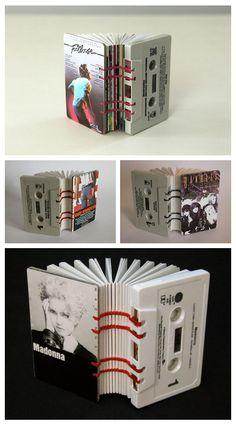 Cassette Tape Books by Erin Zamrzla