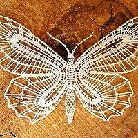 Needle Lace, Bobbin Lace, Lacemaking, Lace Heart, Lace Jewelry, Lace Detail, Arts And Crafts, Butterfly, Crochet