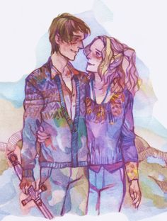 Neville and Luna by Darya Space