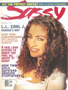 Sassy February 1993 - Rebecca Gayheart