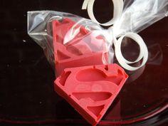 Superman Party Favors/Guest Soap Set of 25, Vegan, shower favors, super hero's, childrens soap