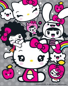 Hello Kitty & Charuca by charuca, via Flickr