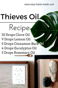A simple mixture of a few easy essential oils promise to help you fight the common cold, airborne germs and makes effective homemade household cleaners for basic frugal living!