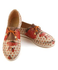 Another great find on #zulily! Red Ladybug Oxford #zulilyfinds