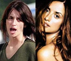 Penelope Cruz without makeup. Notice how much smaller her eyes look with no makeup on. - See more at: http://plasticsurgerystar.com/penelope-cruz-without-makeup-before-and-after#sthash.UIxbsUbb.dpuf