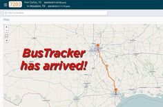 Announcing our new, real-time GPS tracking system BusTracker! Head over to the Hound to learn how this will change the way you hit the road.