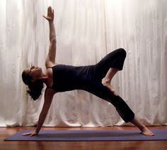 Strike a Yoga Pose: Sage Tree (Go from side plank to this second advanced step-Lynn)