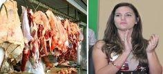 Mayra Brito gasta mais de 20 mil em açougue da cidade de Caravelas