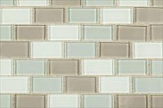 BuildDirect®: Cabot Mosaic Tiles - Crystalized Glass Blend 4mm Series