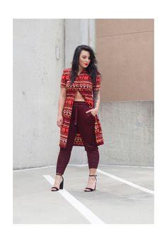 90's Abstract Print Shirt Dress | YUMMI | ASOS Marketplace